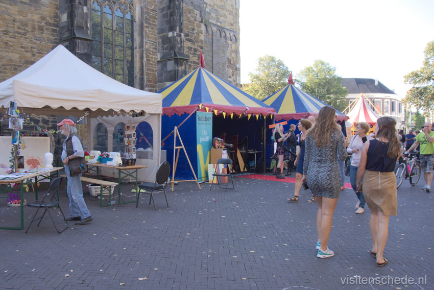 Oude Markt tents photo